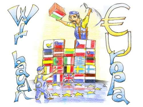 Wir bauen Europa